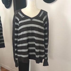 free people • sweater tunic top